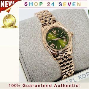 NWT Michael Kors Petite Lexington Watch MK4362